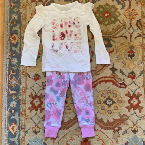 93e72220d Disney Matching Sets | 4t Princess Outfit Pinkpurplewhite | Poshmark